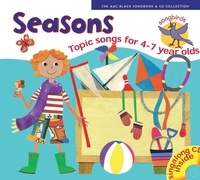 Ana Sanderson et Marie Tomlinson - Seasons - Topic Songs For 4-7 Year Olds. 1 CD audio