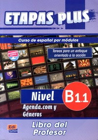 Feriasdhiver.fr Etapas plus Nivel B1.1 Agenda.com y Géneros - Libro del profesor Image