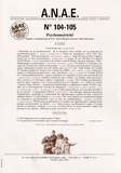 Laurence Vaivre-Douret - ANAE N° 104-105, Novembre : Psychomotricité.