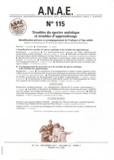 Jean-Louis Adrien - ANAE N° 115, Décembre 201 : Troubles du spectre autistique et troubles d'apprentissage - Identification précoce et accompagnement de l'enfance à l'âge adulte.