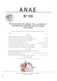 Jacques Grégoire et Todd Lubart - ANAE N° 119, Octobre 2012 : Hauts potentiels des enfants : force ou faiblesse ? Identifier leurs aptitudes pour développer leurs talents.