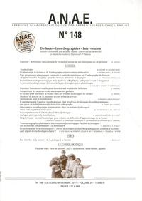 Brigitte Stanké et Alain Desrochers - ANAE N° 148, octobre-nove : Dyslexies-dysorthographies - Intervention.