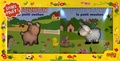 Anaël Dena - Coffret de deux livres pouët : Bouchon le petit cochon ; P'tite boucle le petit mouton - Coffret n°1.