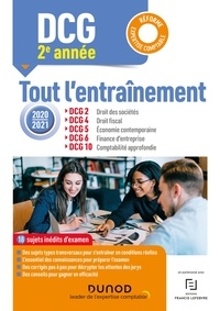 Anaïs Brenot et Elise Grosjean-Leccia - Année 2 : DCG 2-4-5-6-10 - Tout l'entraînement 2020-2021 - Réforme Expertise comptable.