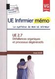 Anaïs David - UE 2.7, Défaillances organiques et processus dégénératifs.