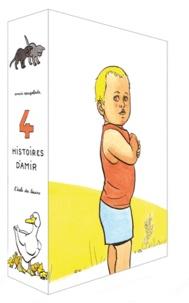 Anaïs Vaugelade - 4 histoires d'Amir - Coffret 4 volumes : Canards, chatons, mouche, tracteur.