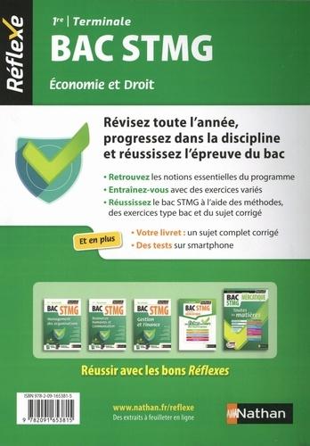 Economie et droit 1re et Tle Bac STMG. Avec un livret détachable  Edition 2019-2020