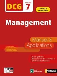 Analie Littière et Nathalie Lucchini - Management DCG 7 - Manuel & Applications.