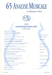 Laurence Le Diagon-Jacquin - Analyse Musicale N° 65, Septembre 201 : Anniversaire Franz Liszt.