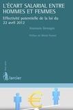 Anastasia Demagos et Michel Pasteel - L'écart salarial entre hommes et femmes.