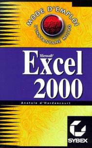 Anatole d' Hardancourt - Excel 2000.
