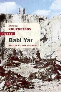Anatoli Kuznetsov - Babi Yar.