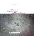 Anca Calin et Alain Milon - Défi de lecture : Thomas l'Obscur de Maurice Blanchot.