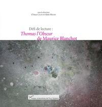 Accentsonline.fr Défi de lecture : Thomas l'Obscur de Maurice Blanchot Image