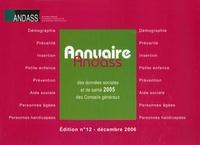 Andass - Annuaire des données sociales et de santé 2005 des Conseils généraux. 1 Cédérom