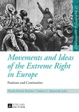 Anders g. Kjostvedt et Nicola kristin Karcher - Movements and Ideas of the Extreme Right in Europe - Positions and Continuities.