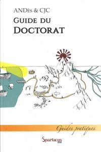ANDès et  CJC - Guide du doctorat.