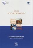 Andra - Etude du Gard Rhodanien - Actes des journées scientifiques CNRS/ANDRA, Bagnols-sur-Cèze, 20 et 21 octobre 1997.