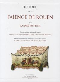 André-Ariodant Pottier - Histoire de la faïence de Rouen.