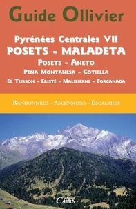 André Armengaud et Agustin Jolis - Pyrénées centrales - Tome 7, Posets - Maladeta.