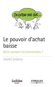André Babeau - Le pouvoir d'achat baisse.