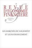 André Babeau et Claude Taffin - Revue d'économie financière N° 115, Septembre 20 : Les marchés du logement et leur financement.