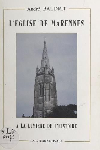 L'église de Marennes à la lumière de l'Histoire