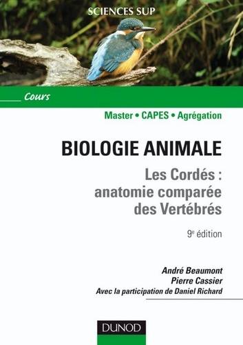 André Beaumont et Pierre Cassier - Biologie animale - Les Cordés - 9e éd. - Anatomie comparée des vertébrés.