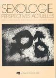 André Bergeron et Jean-Pierre Trempe - Sexologie - Perspectives actuelles.