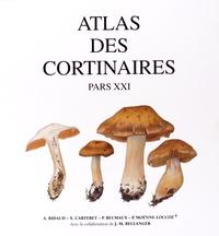 André Bidaud et Xavier Carteret - Atlas des cortinaires - Pars XXI.
