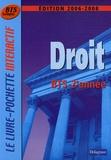André Bollard et Véronique Deltombe - Droit BTS Tertiaires 2e année.