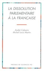 André Cabanis et Michel-Louis Martin - .
