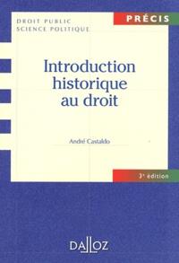 Téléchargements de livres en ligne gratuits Introduction historique au droit (Litterature Francaise) par André Castaldo 9782247115334 PDF RTF MOBI