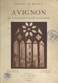 André Chagny et Georges-Louis Arlaud - Avignon et Villeneuve-lès-Avignon - 60 illustrations en héliogravure d'après les clichés originaux de Georges-Louis Arlaud.