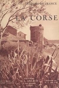 André Chagny et G. L. Arlaud - La Corse.