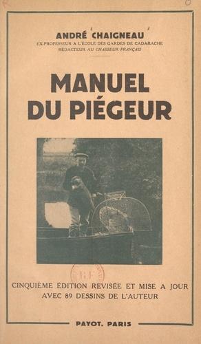 Manuel du piégeur