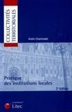 André Chaminade - Pratique des institutions locales.