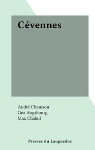 André Chamson et Géa Augsbourg - Cévennes.