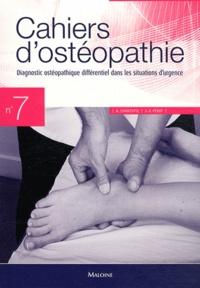 André Chantepie et Jean-François Pérot - Diagnostic ostéopathique différentiel dans les situations d'urgence.