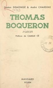 André Chardine et Gaston Demongé - Thomas Boqueron.