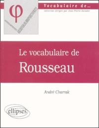 Deedr.fr Le vocabulaire de Rousseau Image