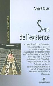 André Clair - Sens de l'existence.