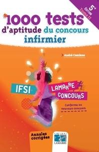 André Combres - 1000 tests d'aptitude du concours infirmier - Tome 2.