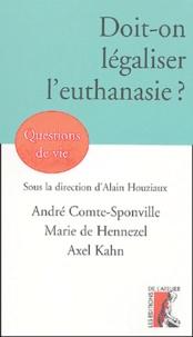 Deedr.fr Doit-on légaliser l'euthanasie ? Image