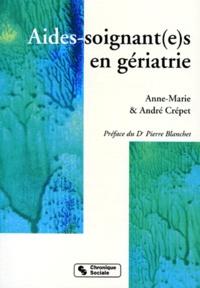 André Crépet et Anne-Marie Crépet - Aides-soignant(e)s en gériatrie.