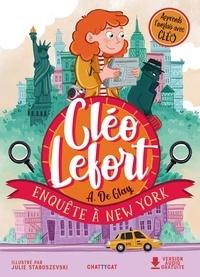 André de Glay - Cléo Lefort  : Enquête à New York.
