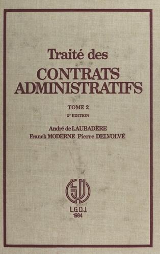 Traité des contrats administratifs (2)