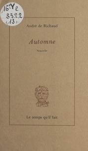 André de Richaud et Michel Kieffer - Automne.