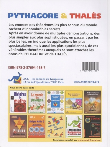 Pythagore & Thalès 4e édition