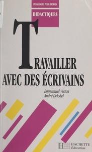 André Delobel et Emmanuel Virton - Travailler avec des écrivains.